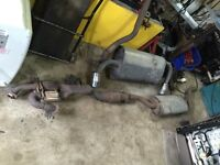Nissan Murano 1st 2nd generation used exhaust system