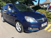 Vauxhall Zafira 1.9CDTi 2007 SRi DIESEL HPI CLEAR WARRANTY INCLUDED WITH M.O.T