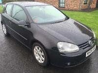 2005 Volkswagen Golf 2.0 FSI GT 150 3 Door hatchback Black 6 Speed manual SOLD