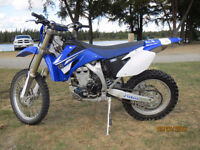 For sale 2008 wr450f