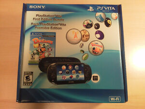 PS Vita OLED First Edition with accessories