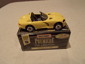 DODGE VIPER RT/10 - MATCHBOX Premiere Collection Series 1 Yellow