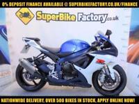 2012 12 SUZUKI GSXR750 750CC 0% DEPOSIT FINANCE AVAILABLE