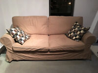 Ikea Ektorp 2 seater sofa bed - Divan lit 2 places Ikea Ektorp