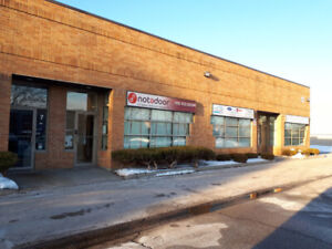 Industrial unit with signage- 1,800 SF  -Dufferin & Langstaff
