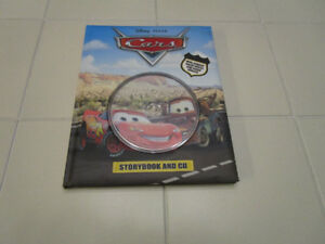 CARS read along story book, with CD *NEW