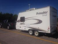 FOR RENT- clean hybrid trailer with A/C!