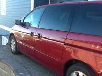 2002 Honda Odyssey Ex Minivan, Van