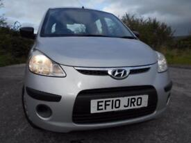 2010 10 HYUNDAI I10 1.2 CLASSIC 5D 77 BHP ** 1 PREVIOUS OWNER , ONLY 26K **