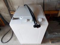 Mini laveuse whirlpool portable
