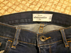 girls size 16 abercrombie ripped jeans