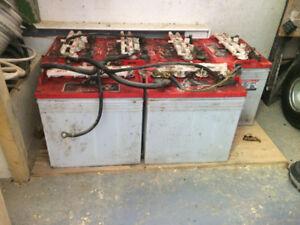 Batterie 8 volts pour cart/voiturette de golf