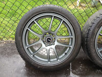 """Barely Used Mint RSSW Mags with 18"""" Diamondback Tires"""