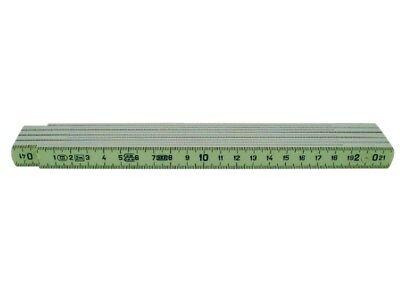 Glasfaser-Maßstab 2 Meter, Zollstock, Meterstab, Gliedermaßstab