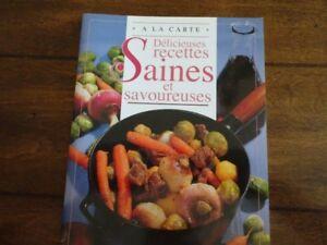 À la carte -  Délicieuses recettes saines et savoureuses.