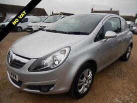 2009 09 VAUXHALL CORSA 1.3 CDTI SPORTIVE 73416 MILES NO VAT TO PAY DIESEL