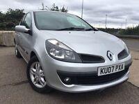 Renault Clio 1.5diesel new mot warranty Mailige