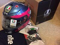 AGV K3 SV Helmet (XL) - Guy Martin - NEW