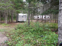 Lot and camper for rent
