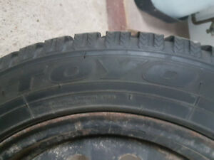 4 Winter tires - Toyo GSi 5 205/55R16 94T with rims