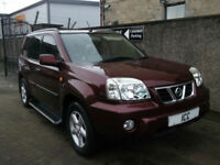 03 53 NISSAN X-TRAIL 2.2DI SVE TURBO DIESEL 5DR HEATED FULL LEATHER PANROOF A/C