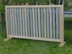 Temporary fence / fencing/ privacy screen Strathcona County Edmonton Area image 5