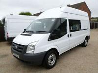 2011 Ford Transit T350 LWB, Welfare Van, Mess Van, Rear Toilet, 8 Seat Crew van