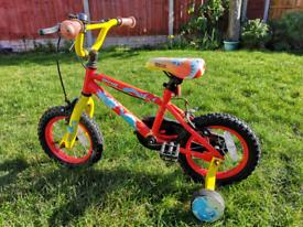 Kids learner bike