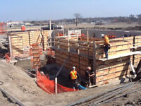 Formwork carpenters & Laborers Needed