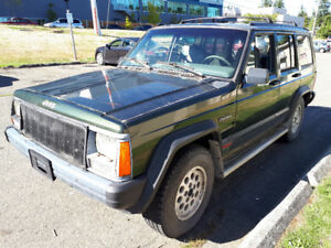 1996 Jeep Cherokee 4L High Output 4x4