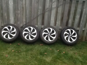 "17"" Alloy Rims and Goodyear Tires 215/55R17"