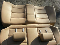 BMW E36 3 Series Sedan Only Tan Rear Seats and Headrests