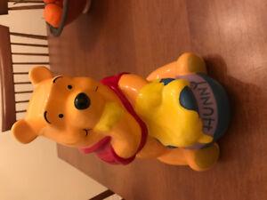 Winnie the Pooh piggy bank