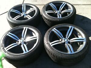 Almost new Bmw m6 rims with tires