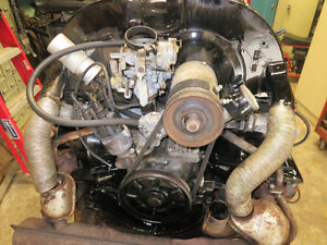 Volkswagen 1600cc dual port engine