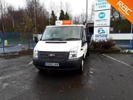 Ford Transit 2.2 T350L Double Cab Dropside One Owner Video Available Low Miles
