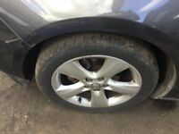 Vauxhall astra j 17 inch sri alloy wheels 215 50 17