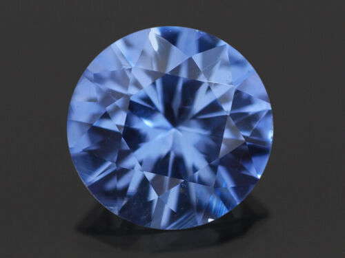 NATURAL MINE - 3.5 mm. ROUND BRILLIANT RICH BLUE CEYLON SAPPHIRE