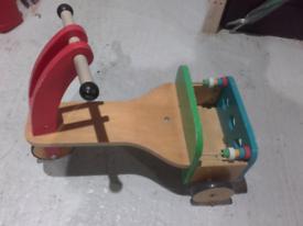 Baby wooden trike
