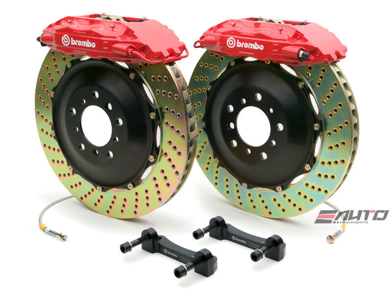 Brembo Rear Gt Bbk Big Brake P Caliper Red 380x28 Drill Disc Benz X164 W164 V251