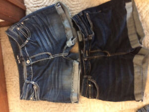 Clothing : Jean shorts. 40.00 Together