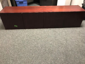 dark cherry wall mount cabinet for sale