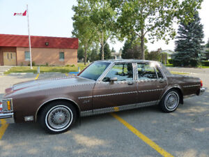 1984 Oldsmobile Delta 88 Royal Brougham 4 door sedan