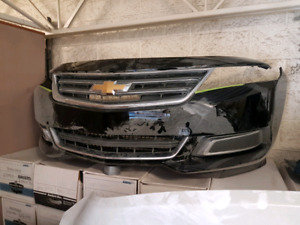 2014-2017 Chevrolet impala complete front with fog covers