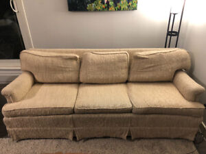 Free couch and matching chairs!