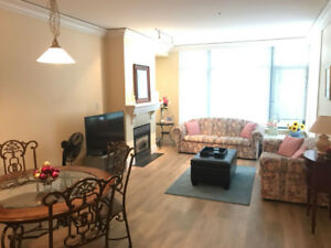 Vancouver Broadway/Arbutus Furnished 2 Bed 2 Bath apartment