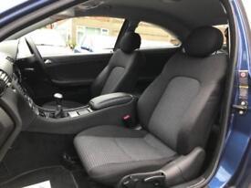 2007 Mercedes-Benz C Class 1.8 C180 Kompressor SE 2dr Petrol blue Manual