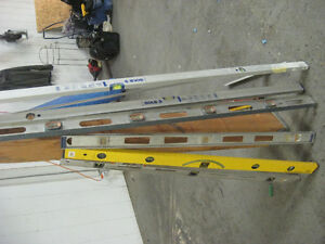 "Beam Level 's 24"", 48"" 6' 2M $10-$60 + Empire 54"" Drywall T-Squa"