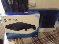 SONY PLAYSTATION 4 NEW LATEST SLIM D CONSOLE - BRAND NEW PS4 - 500GB
