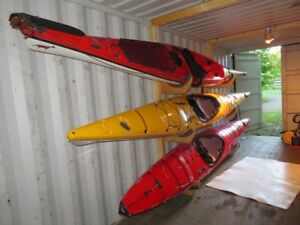 Delta 17' Expedition kayak, with skeg, excellent condition